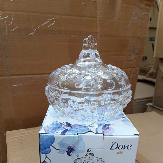 Thố mứt thủy tinh cao cấp quà tặng từ Dove - 2893007 , 673690718 , 322_673690718 , 35000 , Tho-mut-thuy-tinh-cao-cap-qua-tang-tu-Dove-322_673690718 , shopee.vn , Thố mứt thủy tinh cao cấp quà tặng từ Dove
