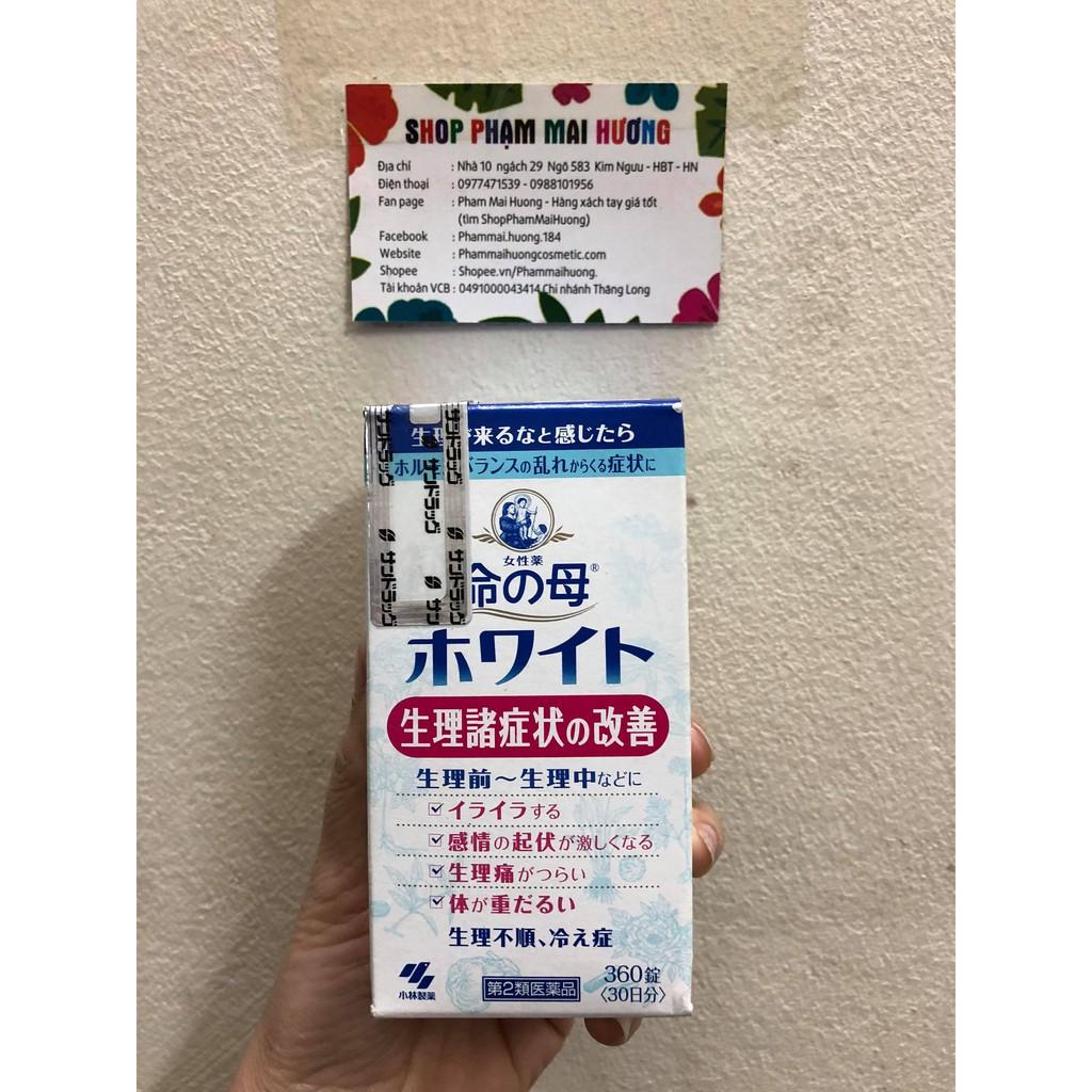 Viên uống điều hòa kinh nguyệt Kobayashi Inochi no Haha hộp 360 viên - 2409549 , 833584777 , 322_833584777 , 890000 , Vien-uong-dieu-hoa-kinh-nguyet-Kobayashi-Inochi-no-Haha-hop-360-vien-322_833584777 , shopee.vn , Viên uống điều hòa kinh nguyệt Kobayashi Inochi no Haha hộp 360 viên