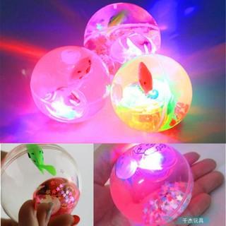 Bóng nảy phát sáng đồ chơi cho bé