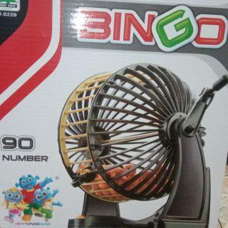 Bộ Lô Tô Quay số BinGo(loại lớn)90 số