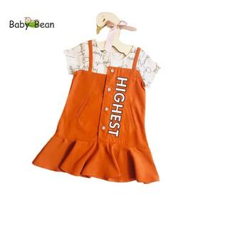 Đầm Yếm Đuôi Cá Bé Gái BabyBean