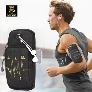 Túi đeo tay thể thao chạy bộ nam nữ tập gym đạp xe fitness kích cỡ 6.2inch MG08