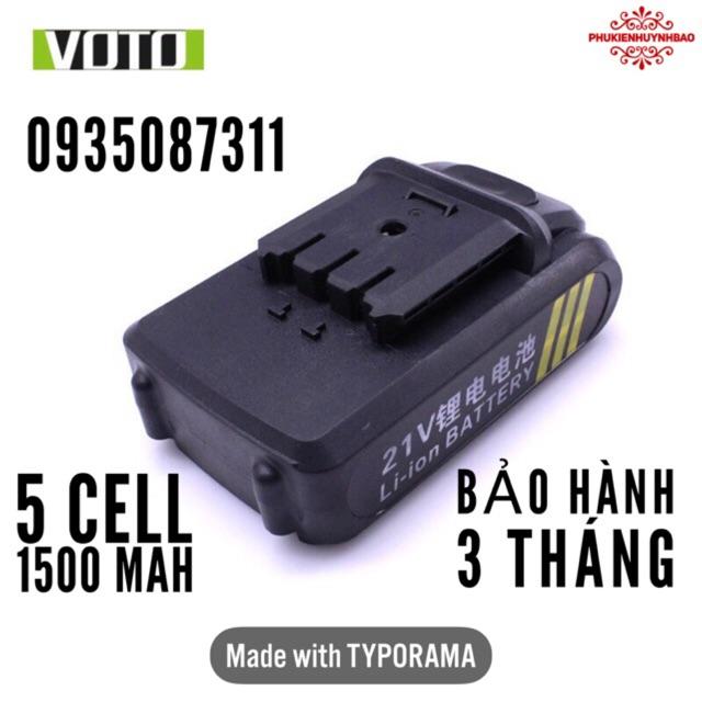 Pin Máy Khoan 21V (Bảo Hành 3 Tháng)