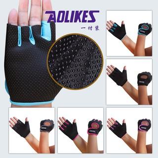 Găng tay thể thao tập Gym, chính hãng Aolikes thumbnail