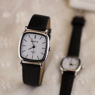 Đồng hồ thời trang nữ RATE mặt chữ nhật xinh xắn