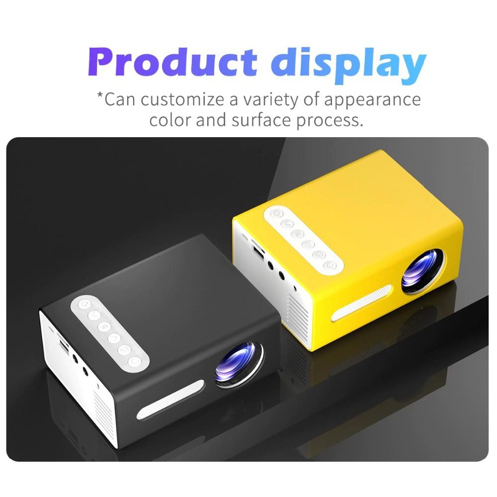 Máy Chiếu Di Động Mini LCD Rạp Chiếu Phim Tại Nhà T300 Thích Hợp Cho Điện Thoại, Máy Tính Bảng, Laptop