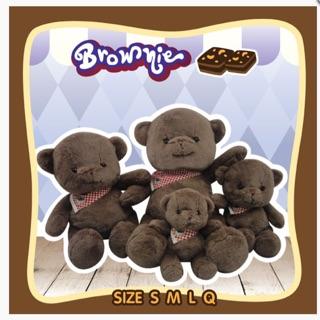 [Hàng Thái Lan] Gấu Bông Brownie_ Hương Chocolate