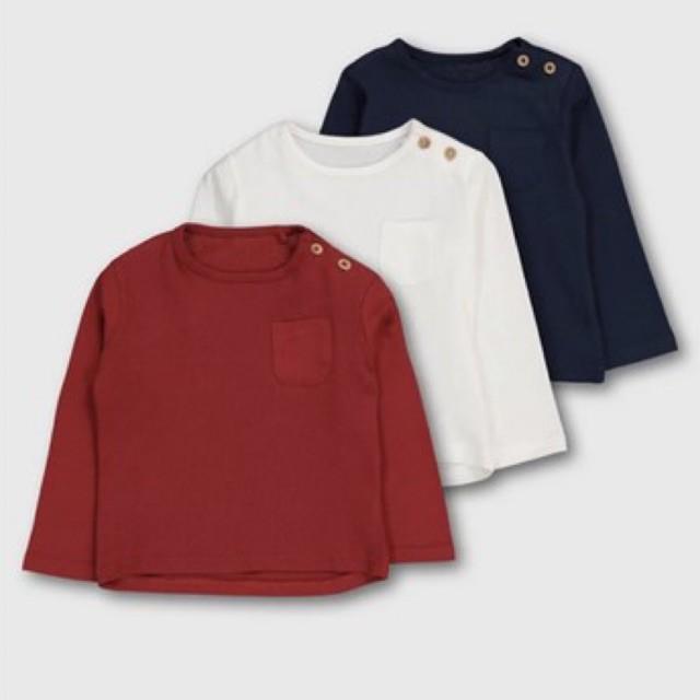 Sét 3 áo Tuclothing sale 12-18 tháng