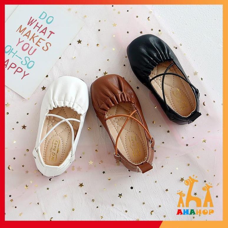 Giày búp bê bé gái - Giày cho bé gái hàng chính hãng BM Baby phong cách Hàn Quốc da mềm cho bé V369