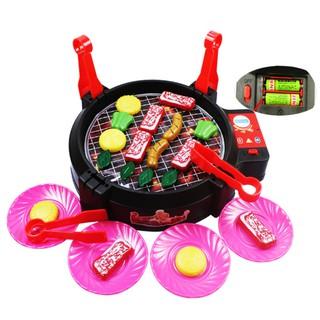 Children Play House Game Toy BBQ Mini Fun Interactive Children's Kitchen Toy Set