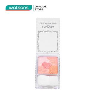 Phấn Má Hồng Canmake Glow Fleur Cheeks 6,3g. 01 Peach Fleur