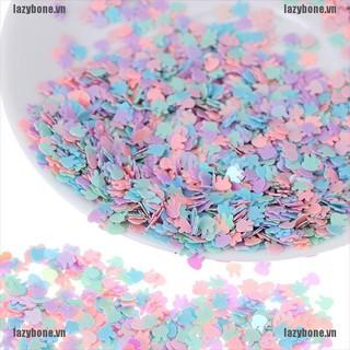 {lazy} 15g Ultrathin 4mm Rabbit Shape Glitter Sequins for wedding Christmas Decor{bone}