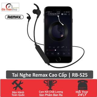 Tai Nghe Không Dây Bluetooth Remax RB S25- Bluetooth v4.2- Dây Đeo Chống Rối Chống Đứt- Bảo Hành Toàn Quốc thumbnail