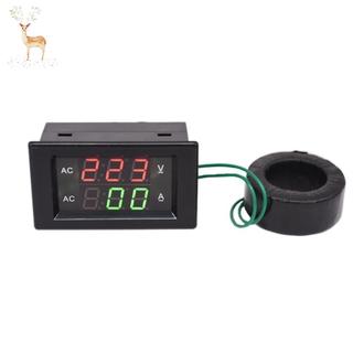 HOT AC 220V 110V 100A 200A Digital Display AC Current Voltage Meter Test Instrument D85-2042A Tools