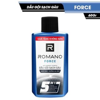 DẦU GỘI SẠCH GÀU ROMANO CLASSIC/ FORCE 5 IN 1 60G