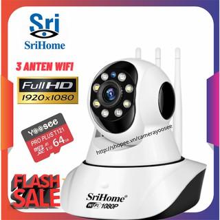 Camera IP WiFi thông minh Srihome - Full HD siêu nét thumbnail