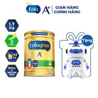"""[Tặng Đồ Chơi Robot Vui Nhộn] Sữa Bột Enfagrow A+ 4 1.7kg (2 Tuổi +) giá chỉ còn <strong class=""""price"""">76.900.000.000đ</strong>"""