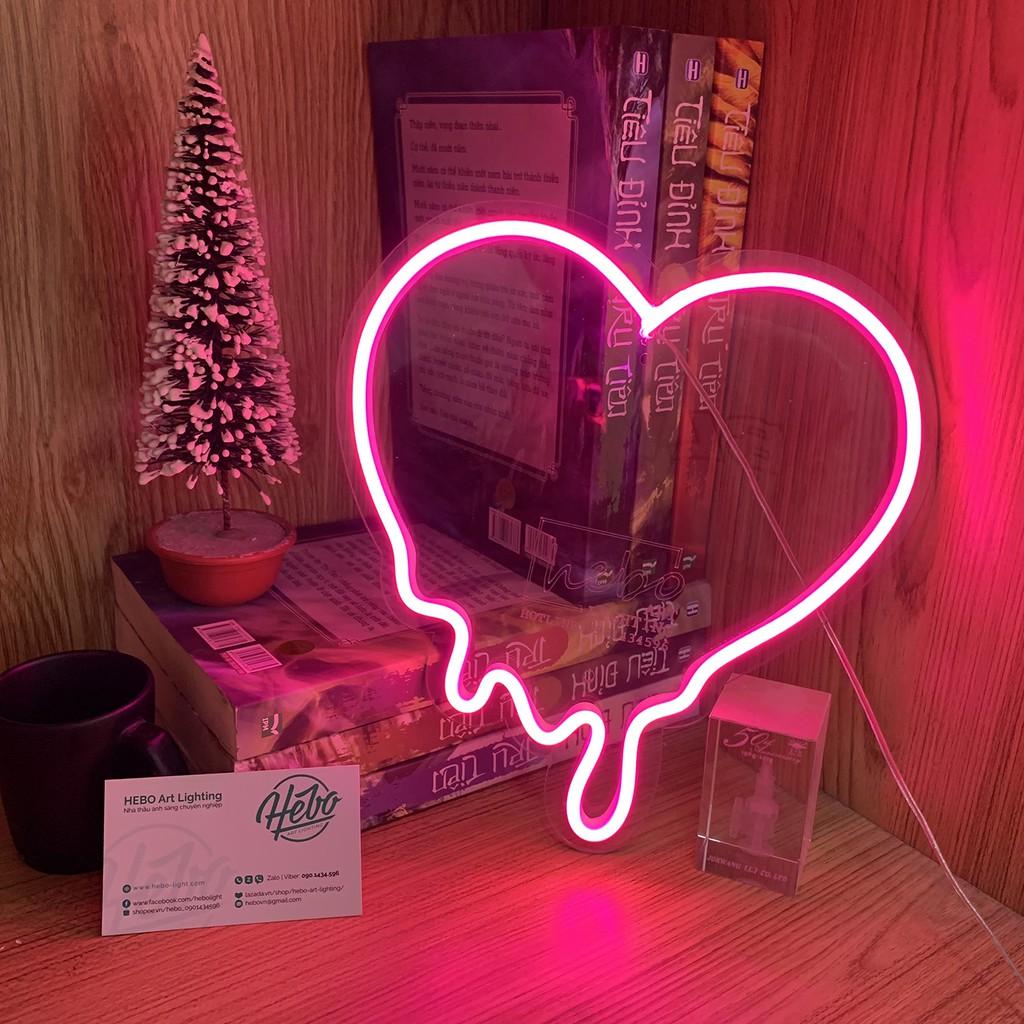 Đèn Trang Trí LED Neon Sign nhiều mẫu, Decor Phòng Ngủ