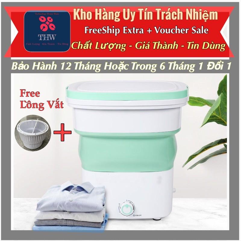 |THW| Máy Giặt Mini gấp gọn,Giăt 1.8kg đồ dùng . Sử dụng điện 220v hoạt động