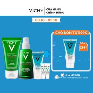 Bộ sản phẩm giúp giảm mụn & phục hồi da Vichy Normaderm Phytosolution thumbnail