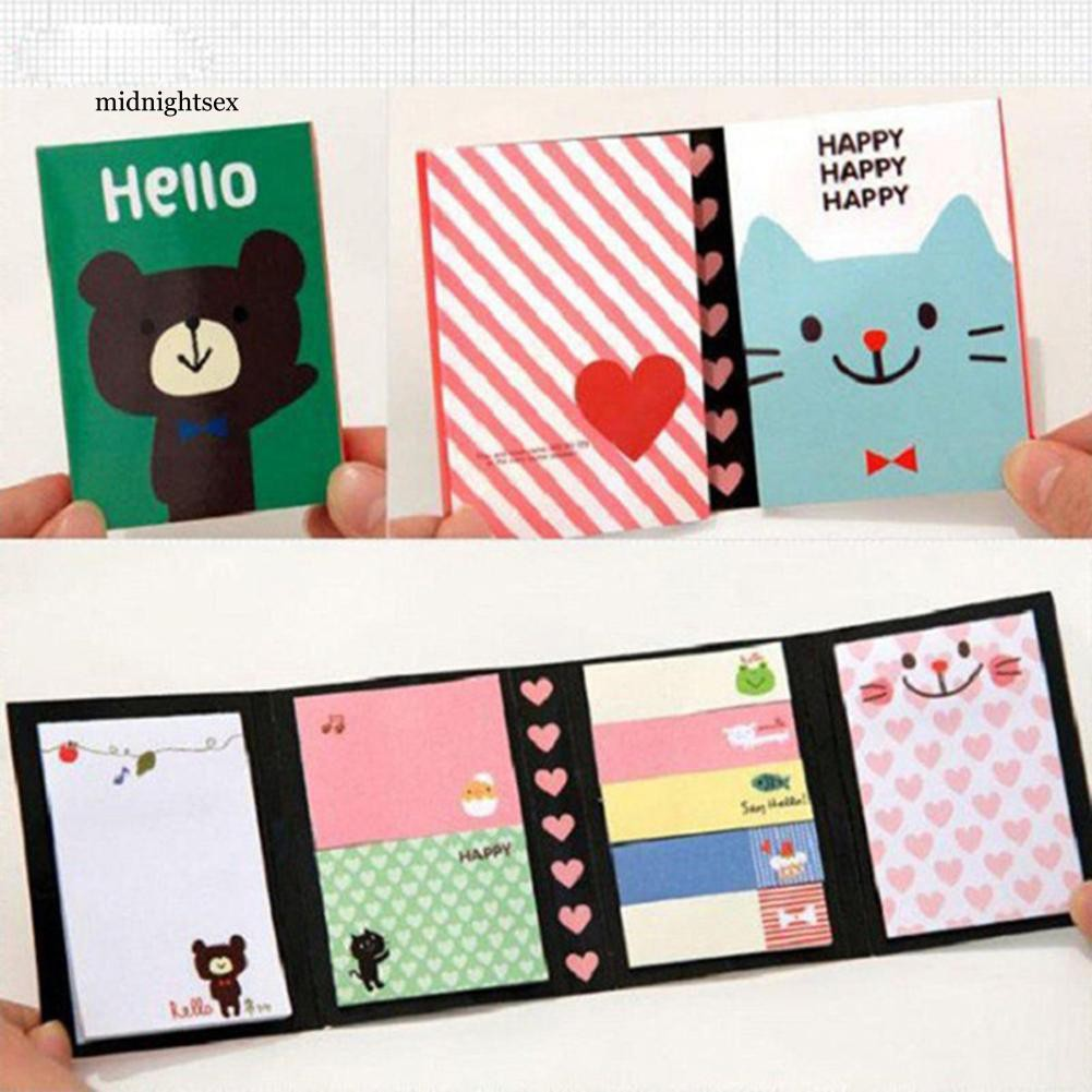 NIDN Animals Lovely Sticker Bookmark Point It Marker Memo Flags Home Sticky Notes