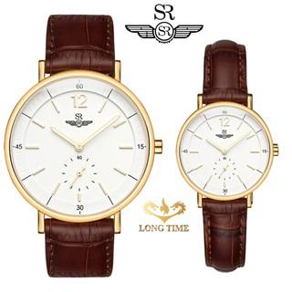 Đồng hồ đôi SRWATCH Mặt Kính Sapphire SRenata SR2087.4602RNT sang trọng trang nhã qu thumbnail