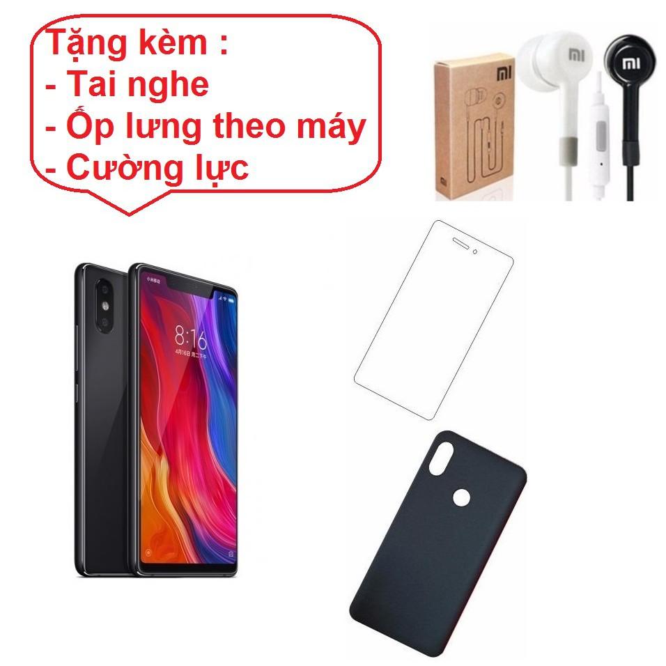 Combo Điện thoại Xiaomi Mi8 SE 64GB Ram 4GB + Tai nghe + Ốp lưng + Cường lực - Hàng nhập khẩu - 2954417 , 1264334156 , 322_1264334156 , 7250000 , Combo-Dien-thoai-Xiaomi-Mi8-SE-64GB-Ram-4GB-Tai-nghe-Op-lung-Cuong-luc-Hang-nhap-khau-322_1264334156 , shopee.vn , Combo Điện thoại Xiaomi Mi8 SE 64GB Ram 4GB + Tai nghe + Ốp lưng + Cường lực - Hàng n