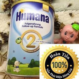 Sữa Humana Gold số 2-800g Nhập khẩu Đức (ĐẢM BẢO CHECK MÃ CHUẨN)