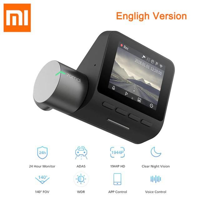 Camera hành trình Xiaomi 70mai Pro 2K Bản quốc tế Tiếng Anh chính hãng