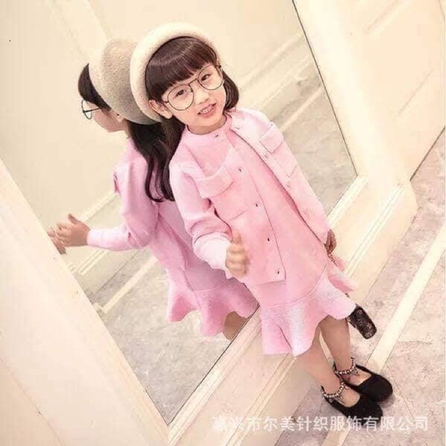 1747590926 - Combo đầm bé gái, bé trai Candy nguyen