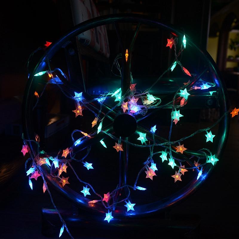 Ánh sáng trang trí ngôi sao Cắm đèn Led Fairy Light 10M 20M 30M LED Starry Twinkle Star String Light Vòng hoa Cổ tích Đèn trong nhà Cây thông Noel ngoài trời Chiếu sáng ngày lễ cho phòng khách Trang trí phòng ngủ