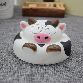 1Pcs Creative Dairy Cow Vent Toy PU Slow Rebound Toys