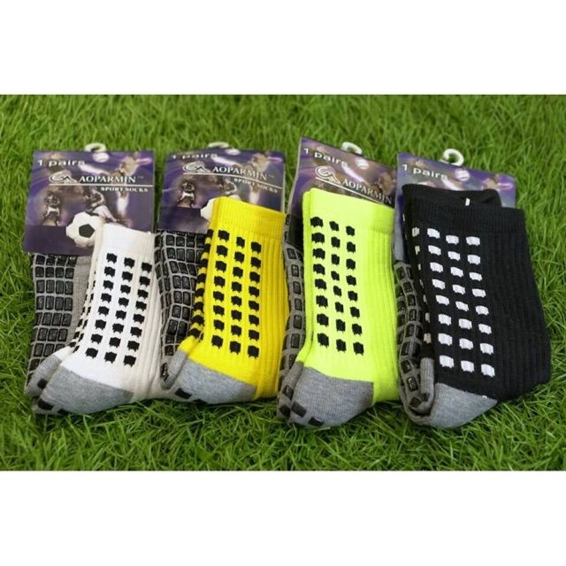 Combo 2 đôi tất chống trơn lửng ( Cao cấp ) Tất bóng đá chống trơn