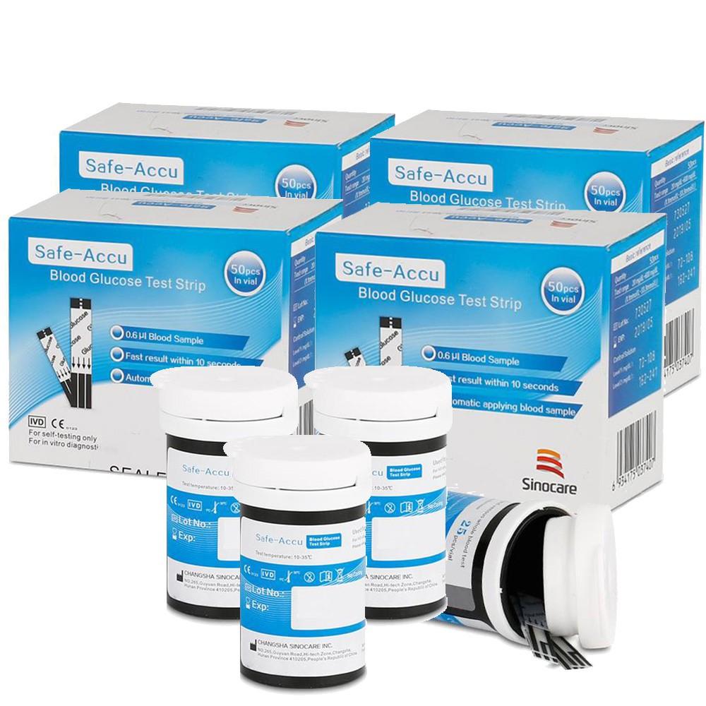 Que thử đường huyết, tiểu đường Sinocare Safe-Acucu chính hãng, đảm bảo an toàn, chính xác - Guty Home