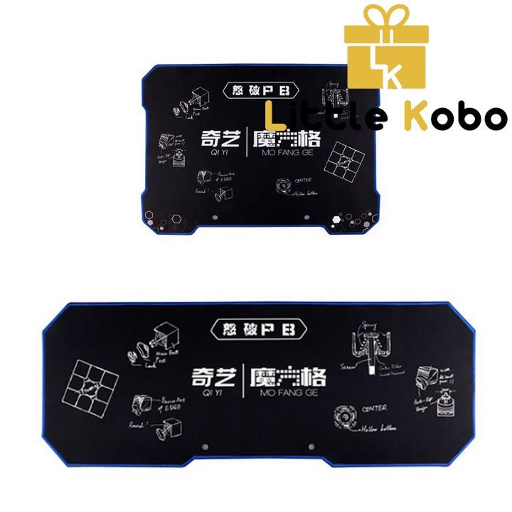 Thảm Rubik QiYi Mat Size Nhỏ Và Size Lớn
