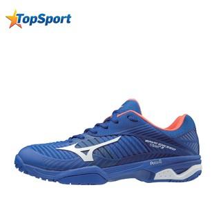 Giày tennis Mizuno WAVE EXCEED TOUR 3 61GA187027 thương hiệu Nhật Bản màu xanh dương thumbnail