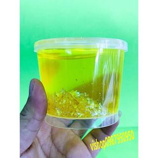 đồ chơi slime hộp to có kim tuyến lấp lánh mã FXO52 QĐa Năng