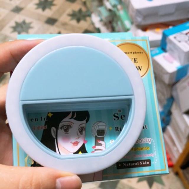 [ Hang San ]Đèn led tròn chụp ảnh cho điện thoại dạng kẹp Selfie Ring Light RL-36