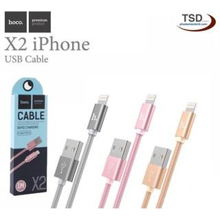 Cáp Hoco X2 – Sạc Nhanh iPhone iPad – Cáp Hoco X2 Lightning Chính Hãng