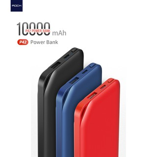 Pin sạc dự phòng ROCK P42 dung lượng 10000mAh