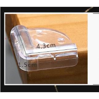 Combo 8 miếng bọc silicon trong suốt góc bàn chống va chạm cho bé-hamy342018