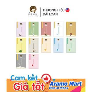 [FREESHIP] Mặt nạ lụa Dưỡng Ẩm, Cấp Ẩm, Trắng Sáng, Mịn Màng Beauty idea diary Đài Loan 25ml/miếng lẻ *AramoMart*