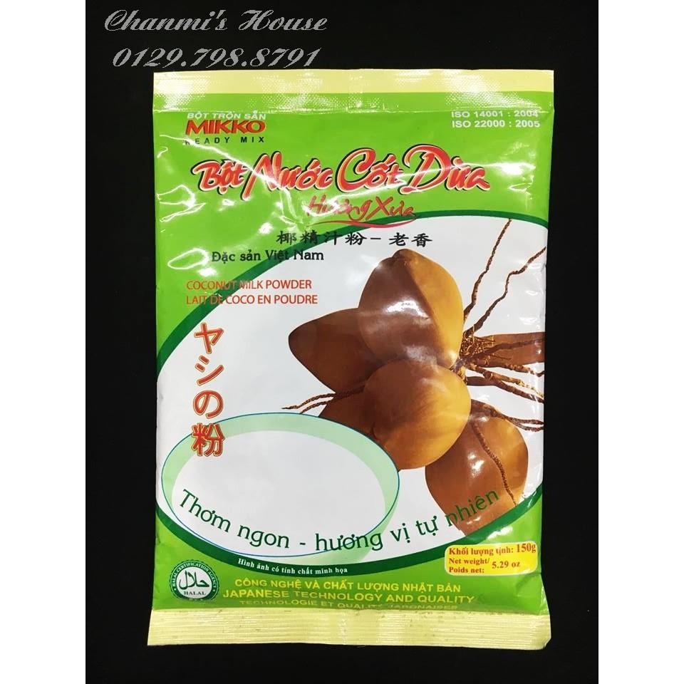 Bột cốt dừa mikko 150gr