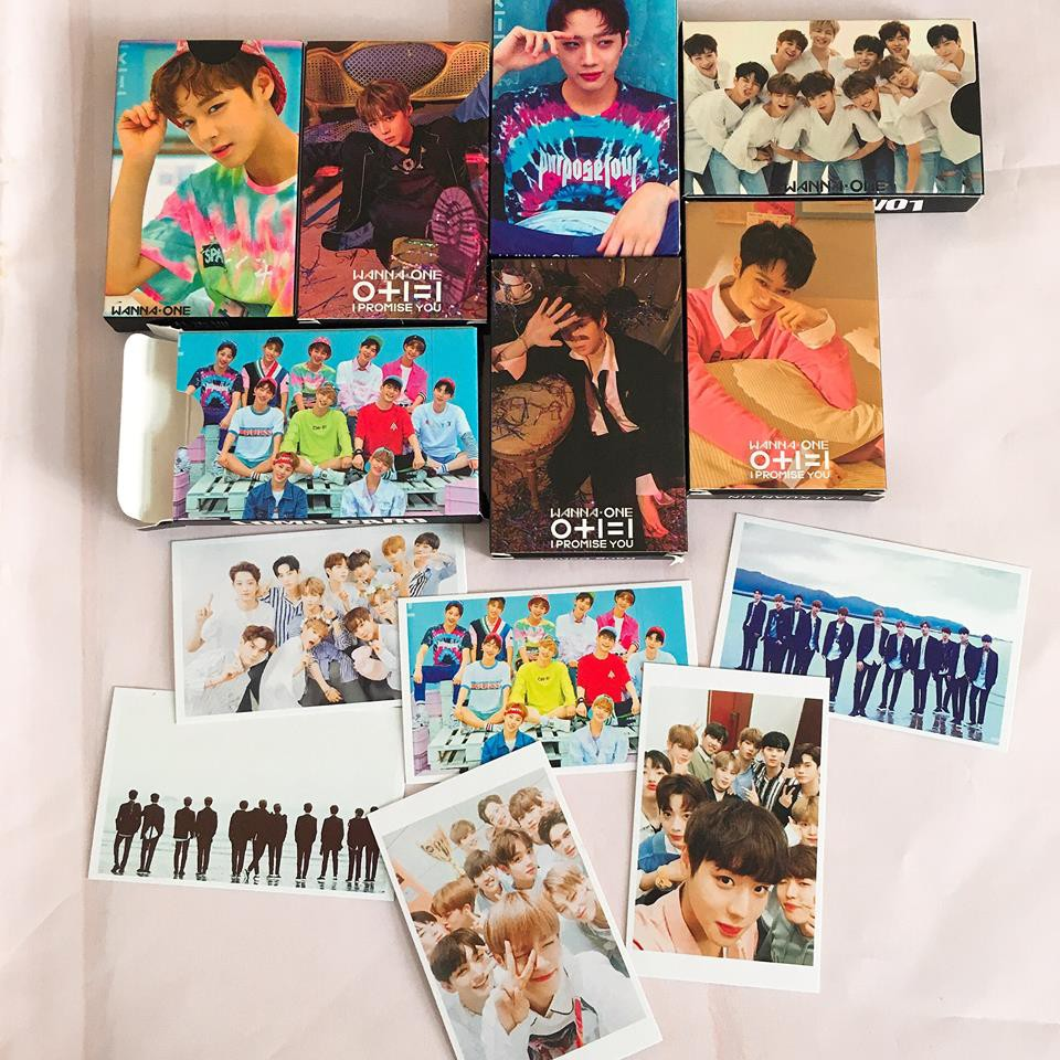 Tổng hợp Lomo card ảnh Wanna One