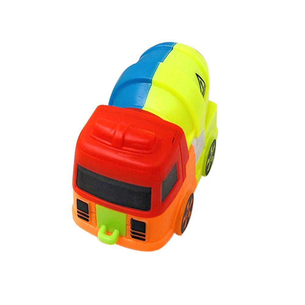 Baby DIY Build Learning Toy Interlocking Car Model Kids Assembly Educational Kit