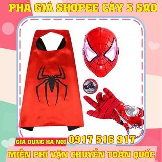 Bộ đồ siêu nhân mặt nạ người nhện Spider Man _HÀNG CHẤT LƯỢNG CAO