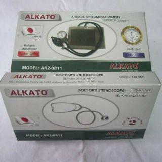 Bộ huyết áp cơ Alkato AK2-0811 chính hãng bảo hành 12 tháng thumbnail