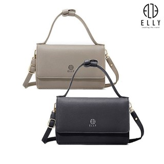Túi clutch nữ thời trang cao cấp ELLY ECH15 đen thumbnail