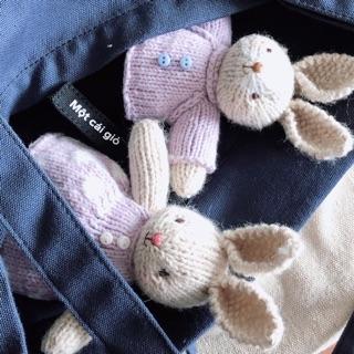 Đôi Thỏ váy áo Tím (giá một đôi)