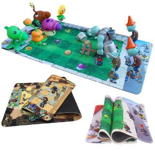 Good Quality PVZ Battle Map Plants Vs Zombies Mouse Pad Mat